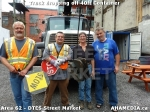26 AHA MEDIA sees Truck drop off 40ft Storage Container for DTES Street Market in Vancouver