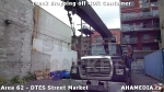 27 AHA MEDIA sees Truck drop off 40ft Storage Container for DTES Street Market in Vancouver