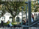 28 AHA MEDIA sees DTES Street Market crew clean up Victory Square inVancouver
