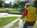 29 AHA MEDIA sees DTES Street Market crew clean up Victory Square inVancouver