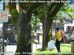 3 AHA MEDIA sees DTES Street Market crew clean up Victory Square in Vancouver