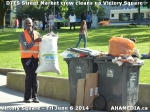 30 AHA MEDIA sees DTES Street Market crew clean up Victory Square inVancouver