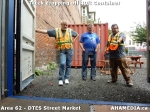 36 AHA MEDIA sees Truck drop off 40ft Storage Container for DTES Street Market in Vancouver