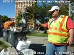 38 AHA MEDIA sees DTES Street Market crew clean up Victory Square inVancouver