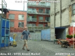 39 AHA MEDIA sees Truck drop off 40ft Storage Container for DTES Street Market in Vancouver