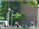 4 AHA MEDIA sees DTES Street Market crew clean up Victory Square inVancouver