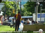 5 AHA MEDIA sees DTES Street Market crew clean up Victory Square inVancouver