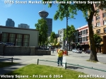 6 AHA MEDIA sees DTES Street Market crew clean up Victory Square inVancouver