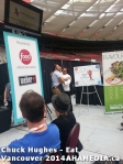 9 AHA MEDIA sees Chuck Hughes at Eat Vancouver 2014