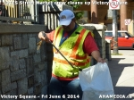 9 AHA MEDIA sees DTES Street Market crew clean up Victory Square inVancouver