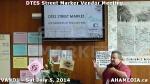 7 AHA MEDIA at DTES Street Market Vendor Meeting on Sat Jun 5 2014