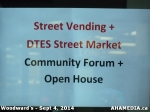 0 AHA MEDIA at Street Vending and DTES Street Market Open House on Sept 4 2014