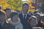 10 AHA MEDIA at Remembrance Day 2014 at Chinatown Memorial, Vancouver