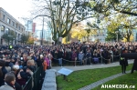 15 AHA MEDIA at Remembrance Day 2014 at  Victory Square, Vancouver