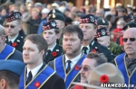 21 AHA MEDIA at Remembrance Day 2014 at  Victory Square,Vancouver