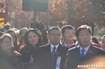 9 AHA MEDIA at Remembrance Day 2014 at Chinatown Memorial, Vancouver