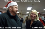 1 AHA MEDIA at Willow Addictions Rehabilitation Society giving back to the DTES
