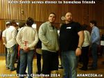 11 Keith Smith serves dinner to homeless friends at Uptown Church Christmas 2014