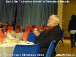 13 Keith Smith serves dinner to homeless friends at Uptown Church Christmas 2014