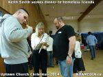 14 Keith Smith serves dinner to homeless friends at Uptown Church Christmas 2014