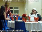 15 Keith Smith serves dinner to homeless friends at Uptown Church Christmas 2014