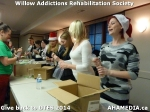 18 AHA MEDIA at Willow Addictions Rehabilitation Society giving back to the DTES