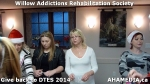 20 AHA MEDIA at Willow Addictions Rehabilitation Society giving back to the DTES