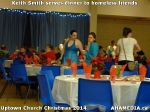 24 Keith Smith serves dinner to homeless friends at Uptown Church Christmas 2014