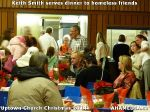 28 Keith Smith serves dinner to homeless friends at Uptown Church Christmas 2014