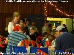 33 Keith Smith serves dinner to homeless friends at Uptown Church Christmas 2014