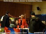 36 Keith Smith serves dinner to homeless friends at Uptown Church Christmas 2014