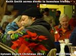 39 Keith Smith serves dinner to homeless friends at Uptown Church Christmas 2014