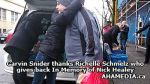 4 Garvin Snider thanks Richelle Schmelz who gives back In Memory of Nick Healey
