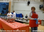 4 Keith Smith serves dinner to homeless friends at Uptown Church Christmas 2014