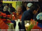 40 Keith Smith serves dinner to homeless friends at Uptown Church Christmas 2014