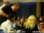 46 Keith Smith serves dinner to homeless friends at Uptown Church Christmas 2014