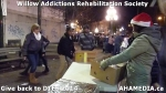49 AHA MEDIA at Willow Addictions Rehabilitation Society giving back to the DTES