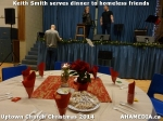 5 Keith Smith serves dinner to homeless friends at Uptown Church Christmas 2014