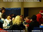 51 Keith Smith serves dinner to homeless friends at Uptown Church Christmas 2014