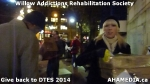 54 AHA MEDIA at Willow Addictions Rehabilitation Society giving back to the DTES