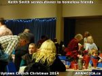 54 Keith Smith serves dinner to homeless friends at Uptown Church Christmas 2014