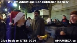 56 AHA MEDIA at Willow Addictions Rehabilitation Society giving back to the DTES