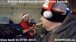 57 AHA MEDIA at Willow Addictions Rehabilitation Society giving back to the DTES