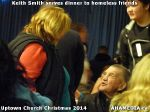 58 Keith Smith serves dinner to homeless friends at Uptown Church Christmas 2014