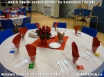 6 Keith Smith serves dinner to homeless friends at Uptown Church Christmas2014