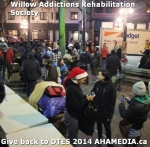 67 AHA MEDIA at Willow Addictions Rehabilitation Society giving back to the DTES