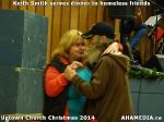 72 Keith Smith serves dinner to homeless friends at Uptown Church Christmas 2014