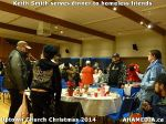 76 Keith Smith serves dinner to homeless friends at Uptown Church Christmas 2014