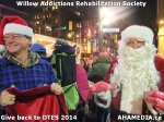 92 AHA MEDIA at Willow Addictions Rehabilitation Society giving back to the DTES
