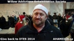96 AHA MEDIA at Willow Addictions Rehabilitation Society giving back to the DTES